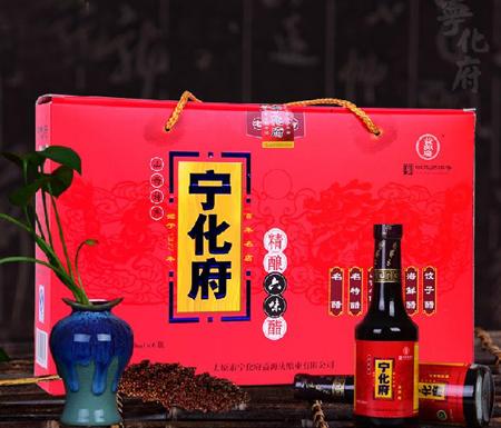 宁化府精制陈酿六味醋礼盒 230ml*6瓶
