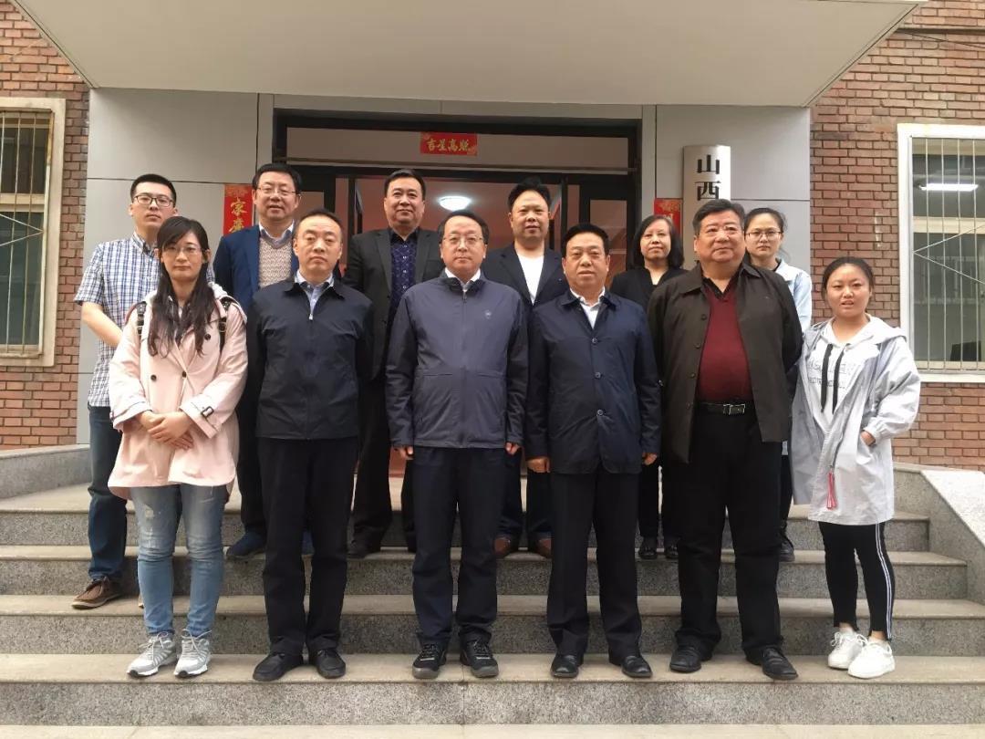 省ag视讯金融办副主任王晓千与秘