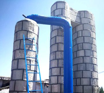 麻石脱硫塔工程