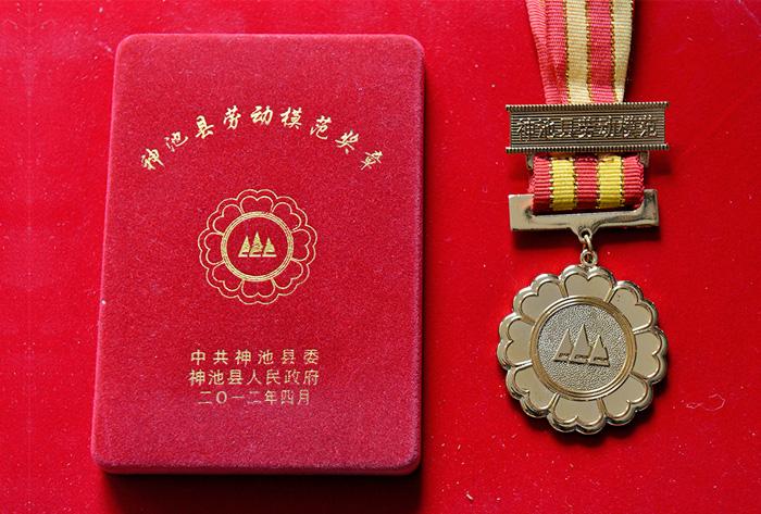 神池县劳动模范奖章