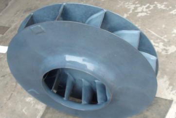 特氟龙喷涂产品-重防腐风机叶轮