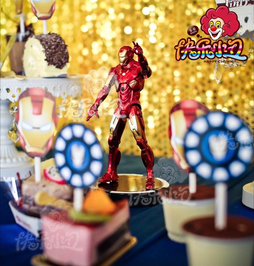 钢铁侠12岁生日主题派对